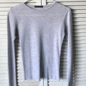 Brandy Melville! Light Gray Thin Sweater